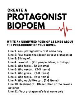 Protagonist Biopoem