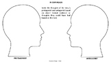 Protagonist vs Antagonist: In Our Heads Activity
