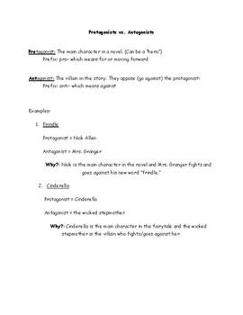 Protagonists vs. Antagonists