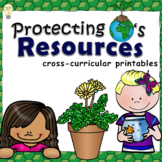 Earth Day: Protecting Earth's Natural Resources No-prep Handouts