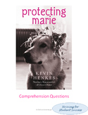Protecting Marie by Kevin Henkes Comprehension Questions and Key