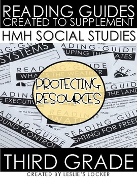 Protecting Resources aligned with HMH Social Studies Grade 3