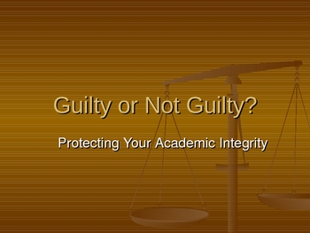 Protecting Your Academic Integrity: Plagiarism Issues