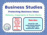 Protecting a Business Idea - Patents, Copyrights & Tradema