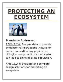 Protecting and Ecosystem