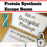 Protein Synthesis Activity - Escape Room Review