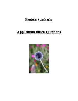 Protein Synthesis Application Based Questions