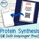 Protein Synthesis QR Code Scavenger Hunt Activity