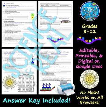 DNA Replication & RNA Protein Synthesis Virtual Game WebQuest