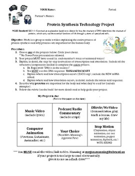 Protein Synthesis Technology Project