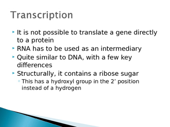 Protein Synthesis (Transcription/Translation) PowerPoint