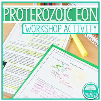 Earth History Reading Passage Set: Proterozoic Eon