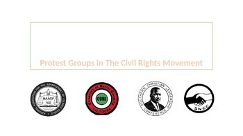 Protest Groups Civil Rights USA
