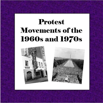 Protest Movements of the 1960s and 1970s
