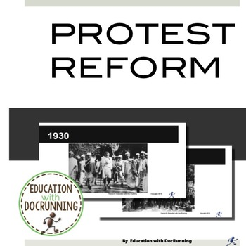 Protestant Reformation: an activity In Social Justice today