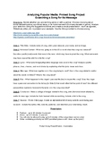 Protest Songs (Research Project w/ Outline and Rubric) Student Presentations