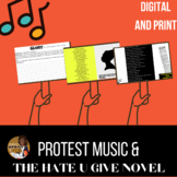 Protest Songs and The Hate You Give (THUG) Unit