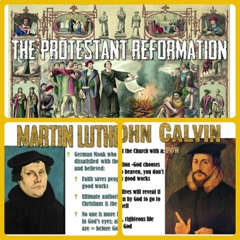Protestant Reformation PowerPoint Lesson