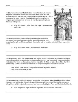 Protestant Reformation 3 Pack: Martin Luther, King Henry VIII, & Ref. Review