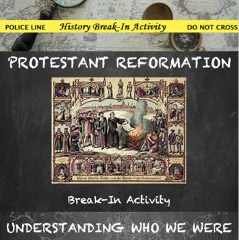 Protestant Reformation Break In Activity