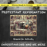 Protestant Reformation Break In Activity