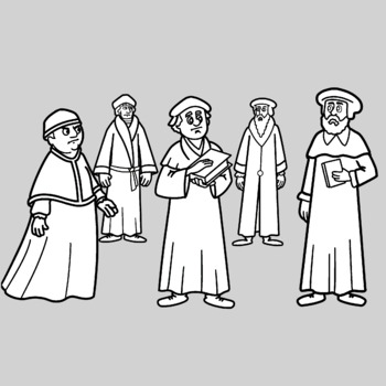 Protestant Reformation Clipart