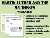 Turning Point: The Protestant Reformation - Global/World History Common Core