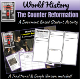 World History   Counter-Reformation: Document Based Activi