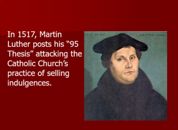 Protestant Reformation Lesson Plan: Debate and Role-Play Activity