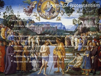 Protestant Reformation Powerpoint (part 2 of 2) AP Europea