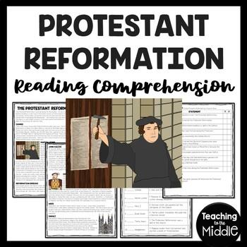 Protestant Reformation, Renaissance, Martin Luther, John C