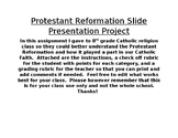 Protestant Reformation Slide Project