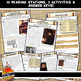 Protestant Reformation Station Activity with Graphic Organizer Worksheets