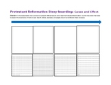 Protestant Reformation Story-boarding (Cause & Effect)