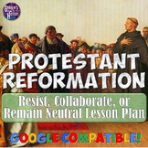 Protestant Reformation and Resistance Lesson Plan