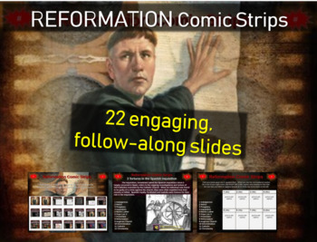 Protestant Reformation: visual & engaging 22 slide PPT and
