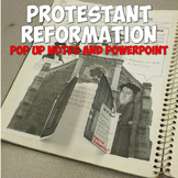 Protestant Reformation Pop Up Notes & Lesson Plan
