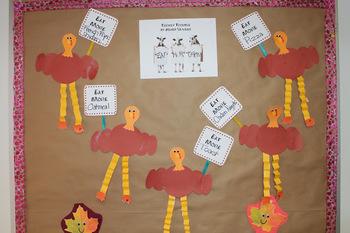 Protesting Turkeys