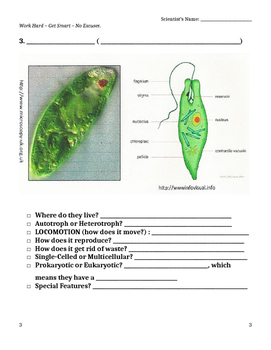 Protist Guided Notes