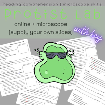 Protist Lab- Web and Microscope Slides