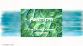 Protists Characteristics Lesson PPT- Editable!