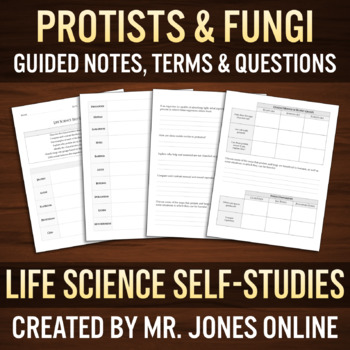 Protists & Fungi: Guided Notes / Self-Study