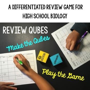Protists Review Qubes
