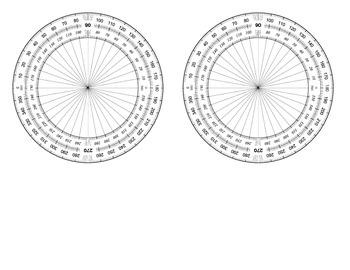 Protractor Circle