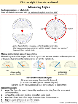 How to use a protractor to measure angles.