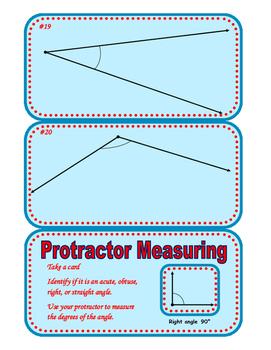 Protractor Measuring Center