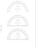 Protractor Sheet Transparancy
