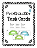 Protractor Task Cards