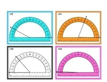 protractor games war task cards and practice sheets by teacher 39 s planet. Black Bedroom Furniture Sets. Home Design Ideas