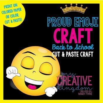 Proud Emoji Emoticon Craft